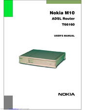 Nokia M10 User Manual