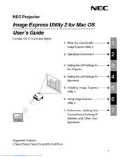 nec lt245 user manual pdf download rh manualslib com NEC Monitor Owners Maunal Manual III NEC Series Dterm 16305003B