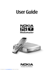 Nokia Mediamaster 121 T User Manual