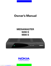 Nokia Mediamaster 9200S Owner's Manual