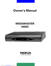 Nokia 9400 S Owner's Manual