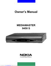 Nokia 9450 S Owner's Manual