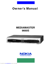 Nokia Mediamaster 9660S Owner's Manual