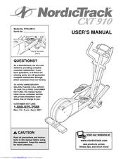 Nordictrack cxt 910 manual