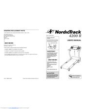 Nordictrack 1600 Treadmill Manuals