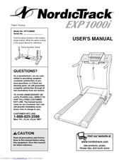Nordictrack Exp 1000i Nttl09900 User Manual Pdf Download