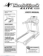 nordictrack elite 4200 treadmill manuals rh manualslib com motorized treadmill owners manual treadmill owners manual tx400