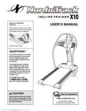 NordicTrack NTK1994.0 User's Manual