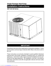 Nordyne Package Heat Pump Wiring Diagram from data2.manualslib.com