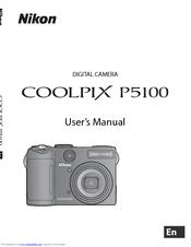 nikon coolpix p5100 user manual pdf download rh manualslib com Nikon Coolpix AW100 Nikon Coolpix P