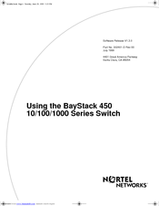 nortel bcm 450 programming manual