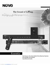 nuvo essentia nv e6gms manuals rh manualslib com Nuvo Concerto Pricing Nuvo Concerto Pricing