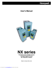 Honeywell NXS 0012 User Manual
