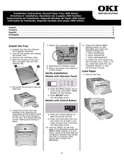 Oki B4600 Series Installation Instructions Manual