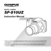 olympus sp 810uz manuals rh manualslib com olympus sp-810uz manual pdf olympus sp-810uz price in india