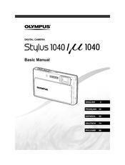 olympus stylus 1040 manuals rh manualslib com Olympus Digital Voice Recorder Manual Olympus Stylus Touch Manual