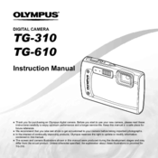 Olympus unveils tg-610 and tg-310 rugged compacts: digital.