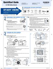 Olympus CAMEDIA C-740 Ultra Zoom Quick Start Manual