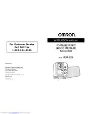 Setting the beep symbol | omron healthcare hem-629 user manual.
