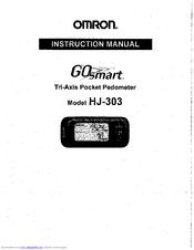 Omron hj-303 manuals.
