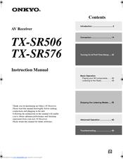 onkyo tx sr576 manuals rh manualslib com Onkyo TX SR501 onkyo tx-sr576 review