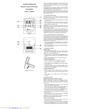 oregon scientific rm832a manuals rh manualslib com