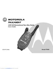 motorola talkabout t5509 manuals rh manualslib com