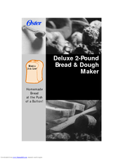 Oster 5821 User Manual