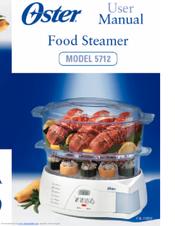 oster 5712 user manual pdf download rh manualslib com oster food steamer manual 5712 Oster Vegetable Steamer