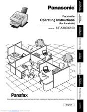 Panasonic uf5300 operating instructions (english).