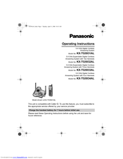 Panasonic cordless phone plus 1 handset kx-tg6822alb | officeworks.