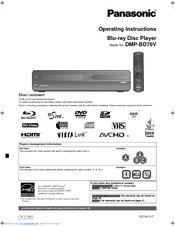 PANASONIC DMP-BD77GC BLU-RAY PLAYER DRIVER WINDOWS