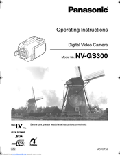 panasonic e cam nv gs300 operating instructions manual pdf download rh manualslib com panasonic nv-gs300 driver windows 7 panasonic nv gs300 manual pdf