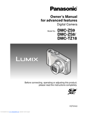 panasonic lumix dmc zs8 manuals rh manualslib com Panasonic Lumix DMC GF6 Newest Panasonic Lumix Camera