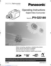 panasonic pv gs180 manuals rh manualslib com
