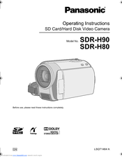 Panasonic sdr-h80 sd and hdd camcorder (black) (discontinued by.