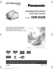 Panasonic vdr-d250 driver download.