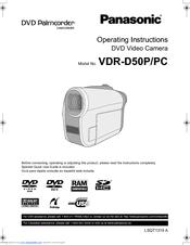 PANASONIC VDR-D50 DVD CAMCORDER DRIVER WINDOWS 7 (2019)