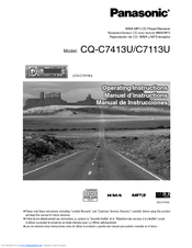 117491_c7113u_product panasonic cq c7413u? cq c7113u manuals panasonic cq-c7413u wiring diagram at love-stories.co