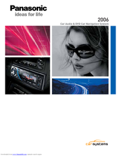 Panasonic Car Audio & DVD Car Navigation System Brochure & Specs