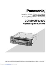PANASONIC 5300U OPERATING INSTRUCTIONS MANUAL Pdf Download. on