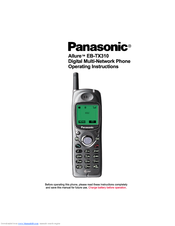 Panasonic Allure EB-TX310 Operating Instructions Manual