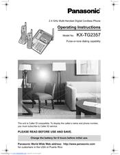 Shop cordless phone battery for panasonic kx-tg2357 free.