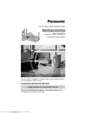 panasonic kx tg5471 operating instructions manual pdf download rh manualslib com