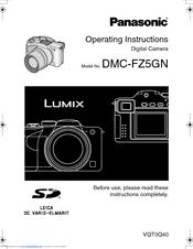 Panasonic DMC-FZ5GN Operating Instructions Manual