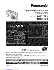 panasonic lumix dmc tz3 operating instructions manual pdf download rh manualslib com panasonic lumix dmc tz4 manual panasonic lumix dmc-tz3 manuel