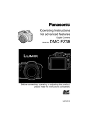 panasonic lumix dmc fz35 manuals rh manualslib com Panasonic Owner's Manual Panasonic.comsupportbycncompass