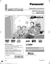 panasonic diga dmr e95h manuals rh manualslib com Panasonic DVD Recorder Panasonic DVD Recorder
