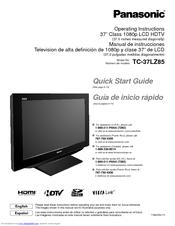 panasonic ty wk32lr2w manuals rh manualslib com Quick Reference Guide Quick Reference Guide