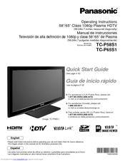 panasonic tc p65s1 65 plasma tv manuals rh manualslib com Panasonic Tc- 58Ax800u Wiring Panasonic E Viera